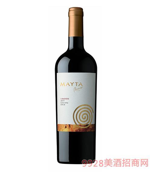 智利魅塔珍藏佳美娜紅葡萄酒