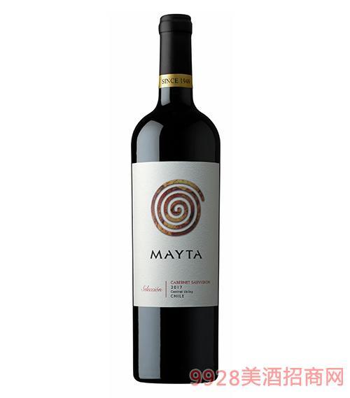 智利魅塔精選赤霞珠紅葡萄酒