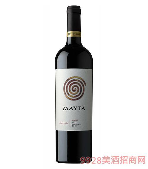 智利魅塔精選梅洛紅葡萄酒