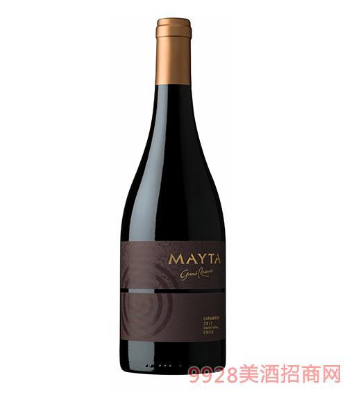 智利魅塔特藏佳美娜紅葡萄酒