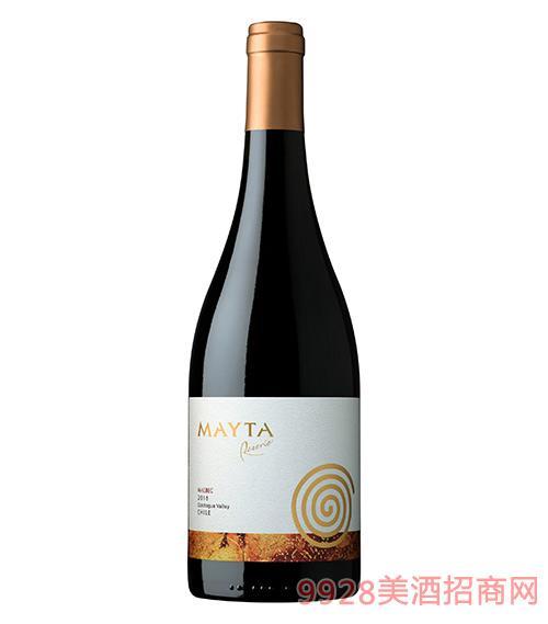 智利魅塔珍藏馬爾貝克紅葡萄酒