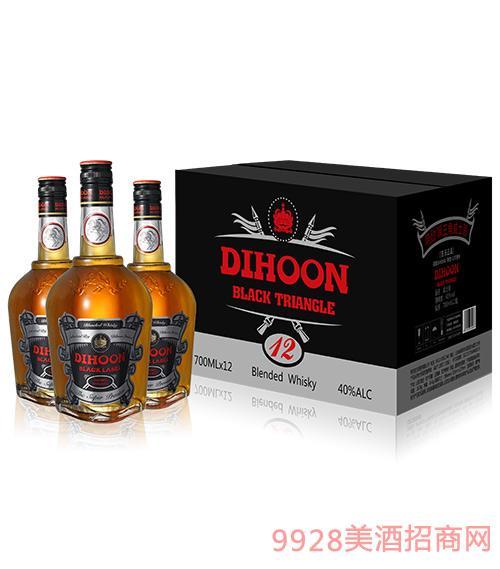 帝勋黑三角混合威士忌酒