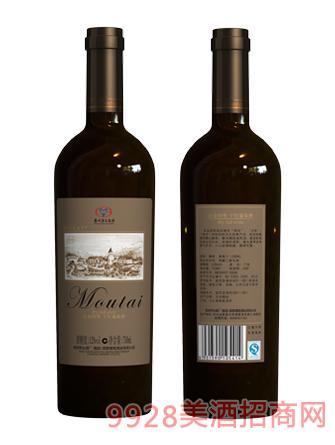 白金国尊干红葡萄酒12度750ml