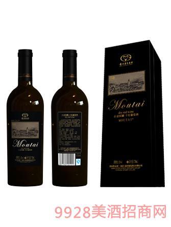 白金国藏干红葡萄酒12度750ml