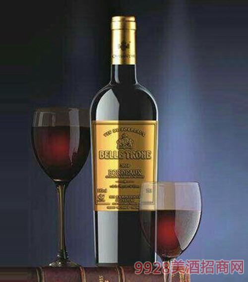 贝桐酒庄干红葡萄酒14度750ml