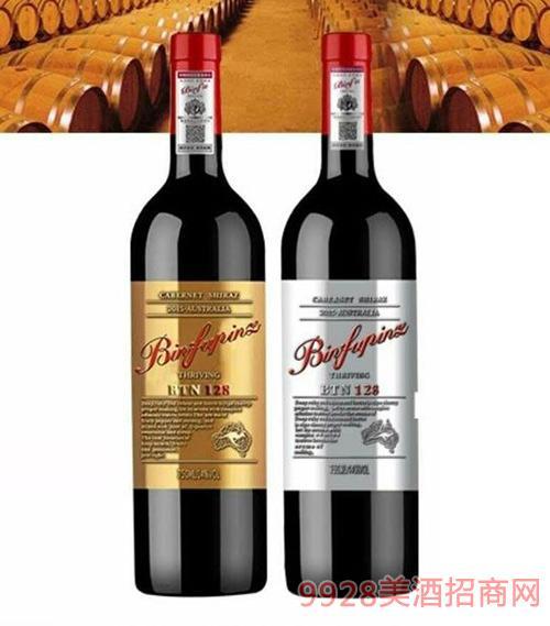 奔富缤致干红葡萄酒BIN128