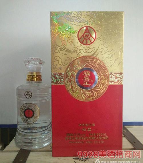 福喜王酒精品52度500ml