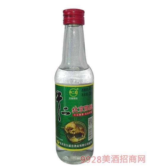 牛二北北京陈酿酒42度250ml