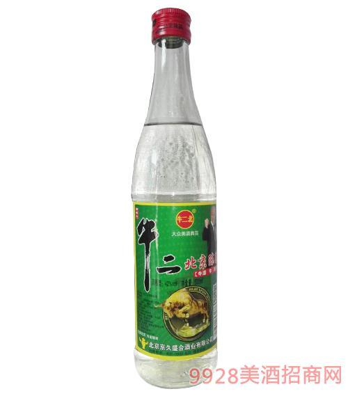 牛二北牛二北京陈酿酒42度500ml