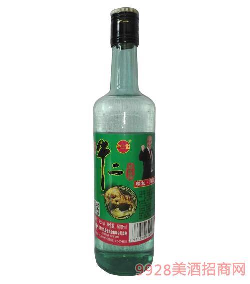 牛二北牛二精制陈酿酒42度500ml