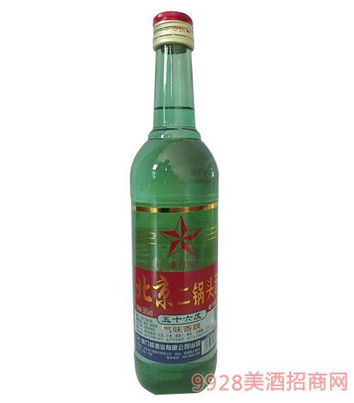 崇门楼北京二锅头酒56度500ml