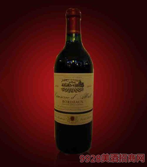 法国波尔多丛林干红葡萄酒