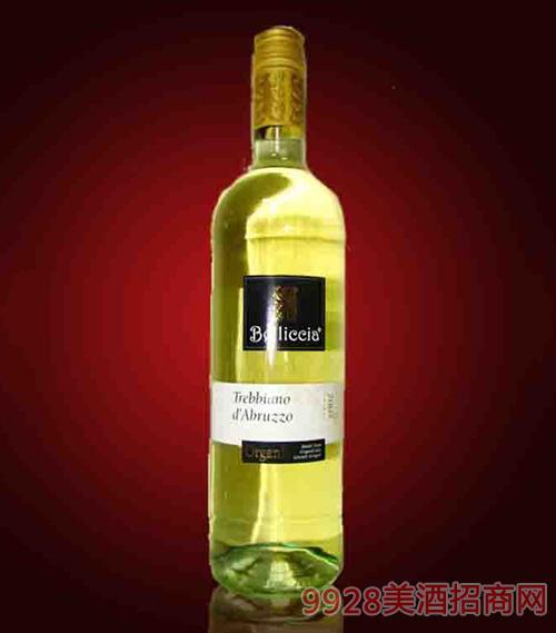 意大利百利西亚特雷比亚诺白葡萄酒