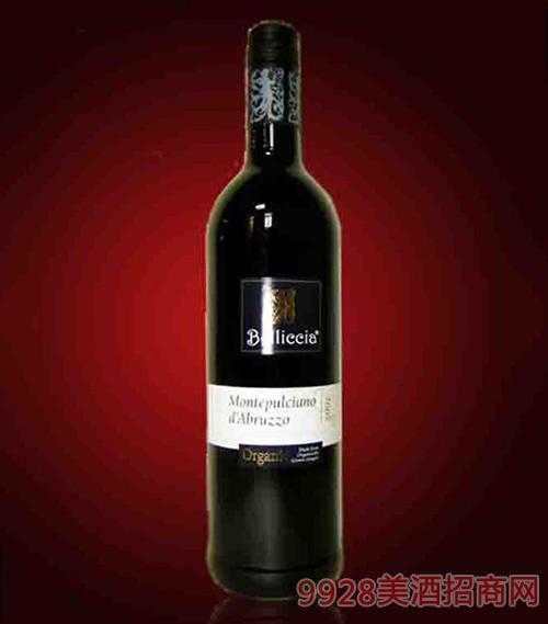 意大利百利西亚蒙蒂普尔查诺红葡萄酒