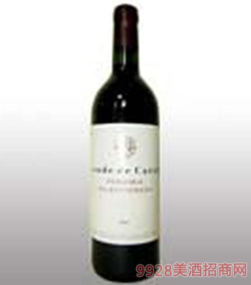 西班牙昆德卡劳特红葡萄酒