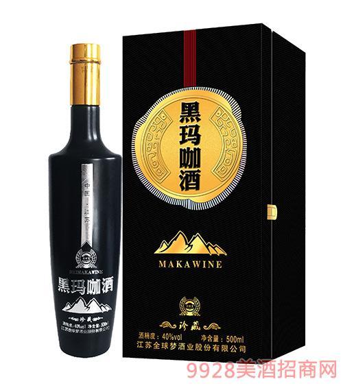 黑��咖酒珍藏40度500ml