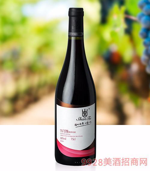 山图干红葡萄酒TU178 750ml