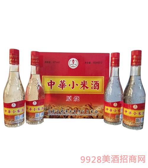 中華小米酒(原烧)42度450mlx12