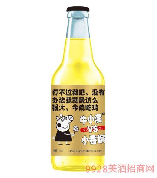 小香槟(白瓶)330ml