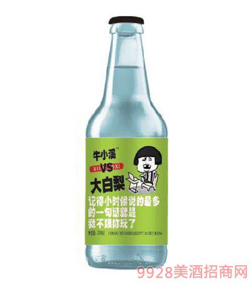 大白梨碳酸果味饮料(绿标)
