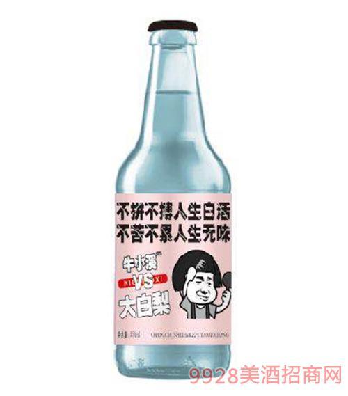 大白梨碳酸果味饮料(粉标)