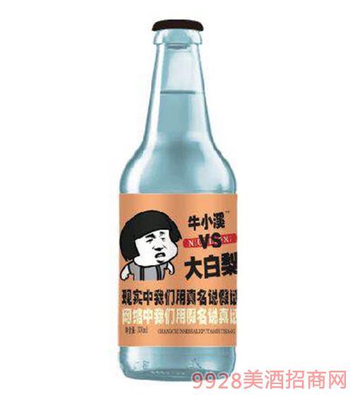 大白梨碳酸果味饮料(橙标)