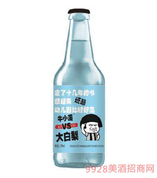 大白梨碳酸果味饮料(蓝标)
