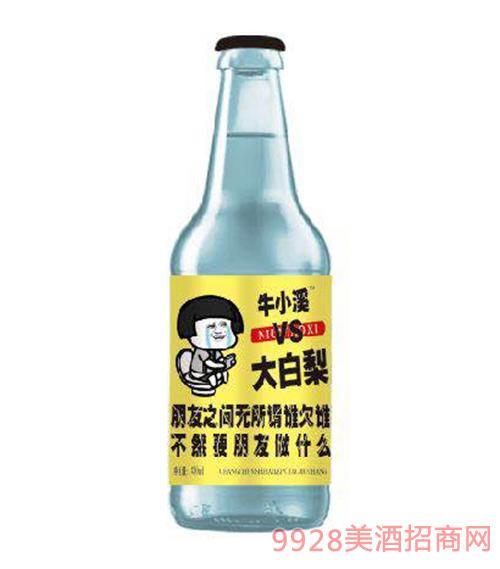 大白梨碳酸果味饮料(黄标)