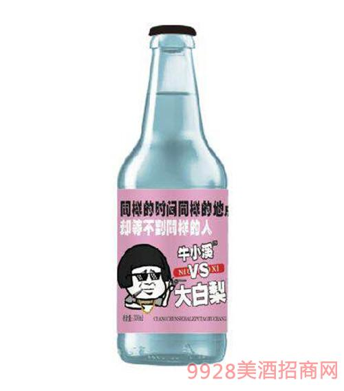 大白梨碳酸果味饮料(紫标)