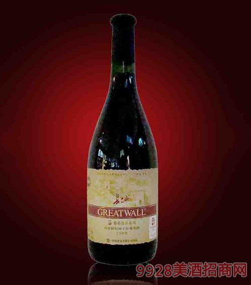 长城高级解百纳干红1998珍藏葡萄酒