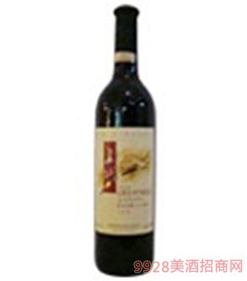 长城红色庄园干红葡萄酒1999