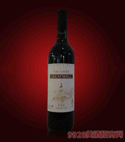 烟台长城赤霞珠干红葡萄酒