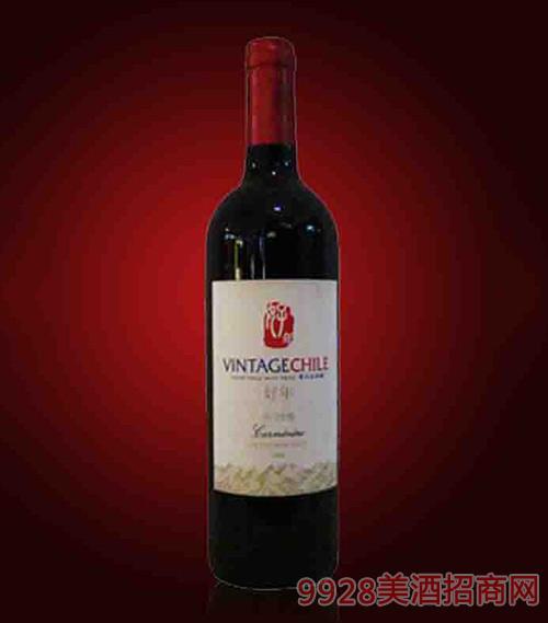 智利好年卡门妮雅干红葡萄酒