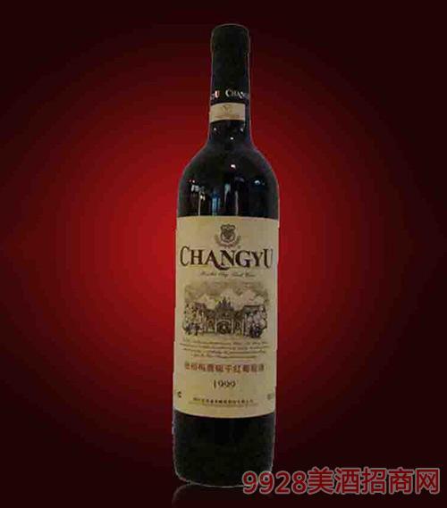 张裕梅鹿辙干红葡萄酒