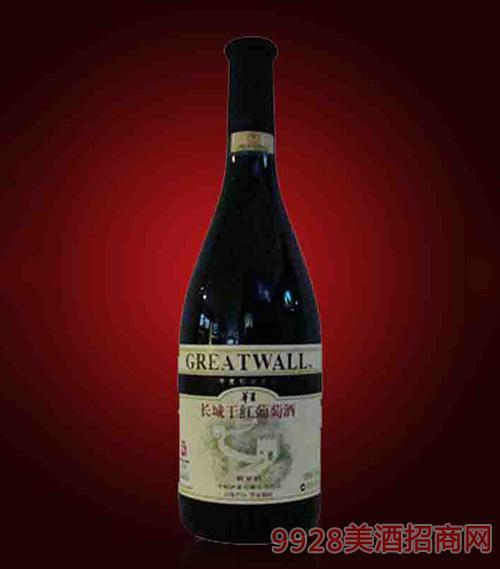 华夏长城解百纳干红葡萄酒