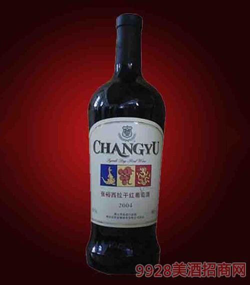 张裕西拉干红葡萄酒