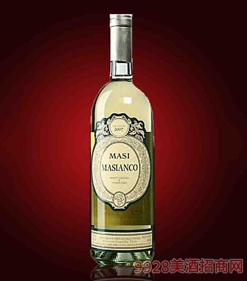 意大利马西安科白葡萄酒