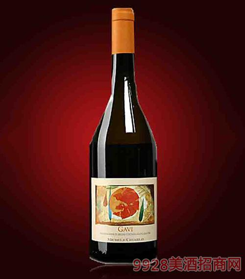 意大利迈克基阿罗佳味保证法定产区白葡萄酒