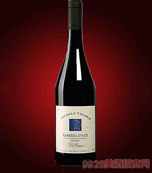 意大利迈克基阿罗精选阿斯蒂巴贝拉奥秘法定产区红葡萄酒