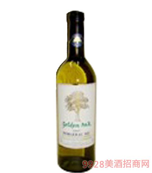 法国金橡树贝杰哈克干白葡萄酒