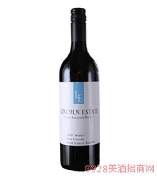 林肯酒庄美乐干红葡萄酒