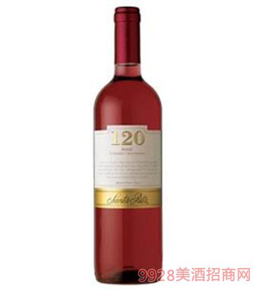 桑塔丽塔120加本力苏维翁桃红葡萄酒