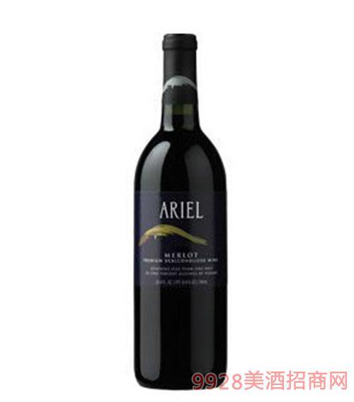 美国爱丽尔(ARIEL)无醇美乐红葡萄酒
