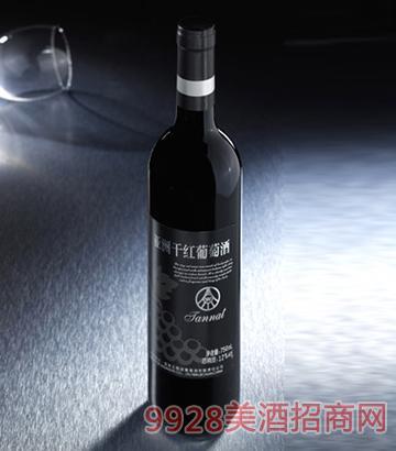 亚洲干红酒12度750ml