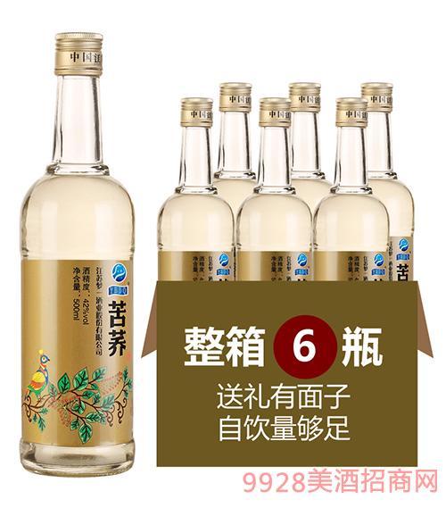 苦荞酒光瓶酒42度500ml