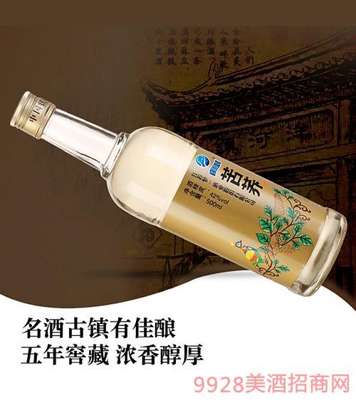 苦荞酒光瓶酒42度