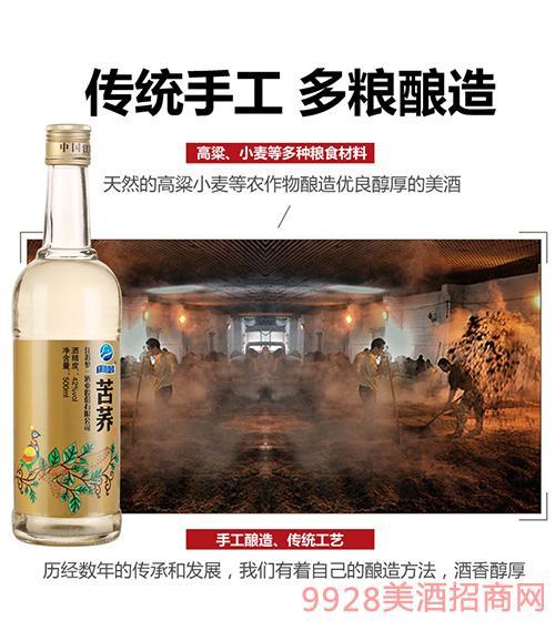 苦荞酒光瓶酒500ml