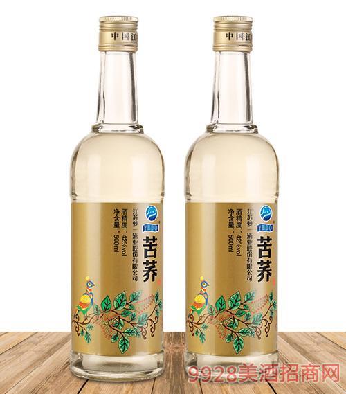 苦荞酒光瓶酒500x2