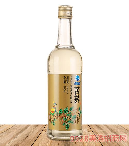42度苦荞酒光瓶酒500