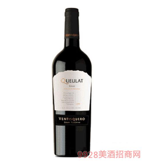 冰川凯罗珍藏西拉干红葡萄酒